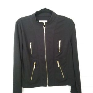 Michael kors coat jacket black large